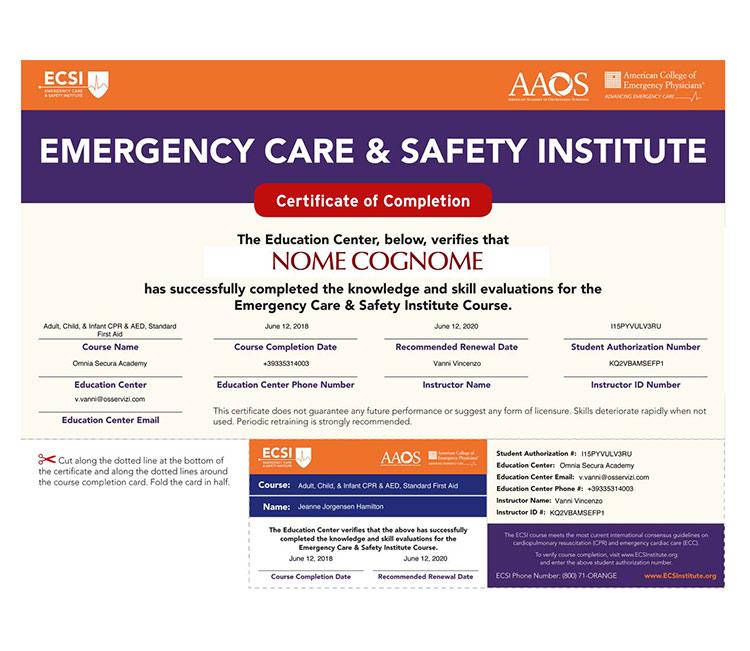 certificao ECSI