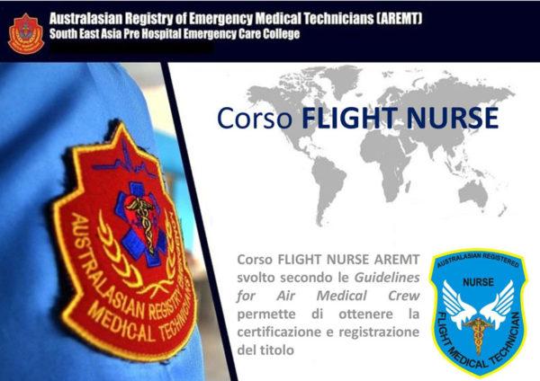 corso flight nurse