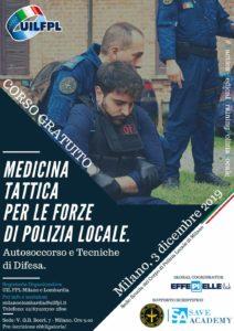 Locandina corso medicina tattica